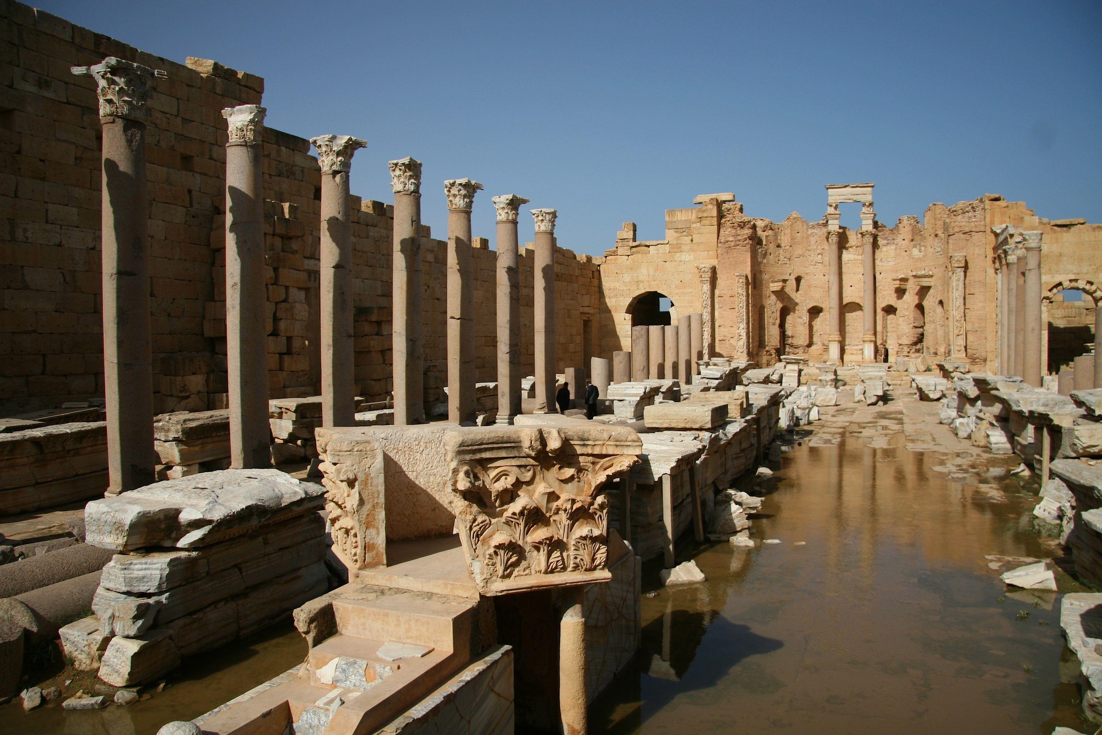 Libya.Leptis.drainageproblems.3