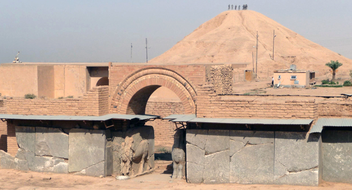 Nimrud, Northwest Palace (photo by Col. Mary Prophit, U.S. Army Reserve, Oct. 2009)