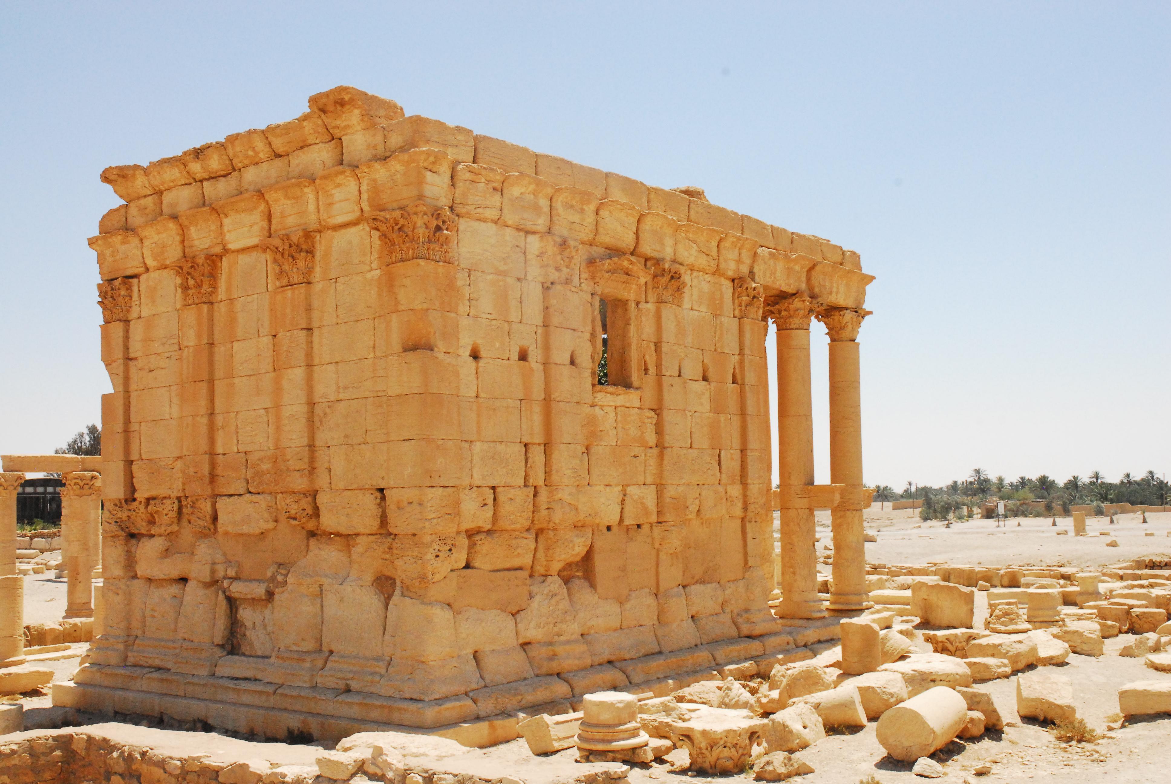 Figure 13: Baalshamin Temple (Michael Danti; 2010)