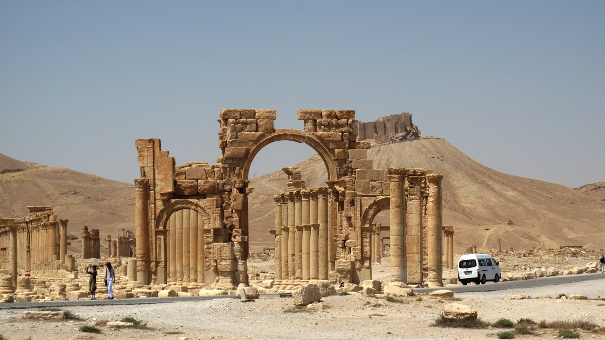Figure 7. Triumphal Arch (DGAM; January 15, 2013)