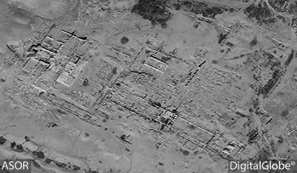 Figure 56. Satellite imagery of the Camp of Diocletian. No status change (DigitalGlobe; March 30, 2016).